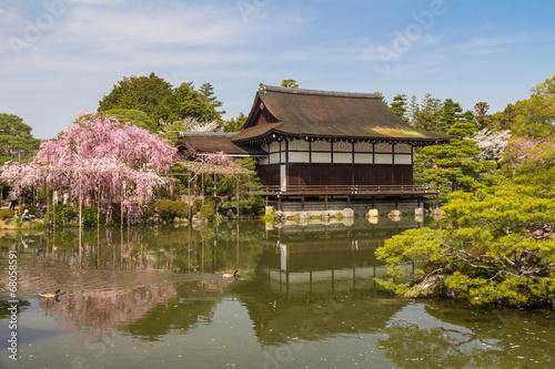 Papiers peints Kyoto Japanese Garden in kyoto Japan