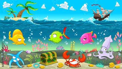 zabawna-scena-pod-morzem
