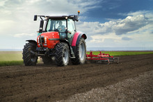 Close-up Of Agriculture Red Tr...