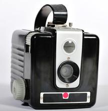 A Vintage Film Camera.