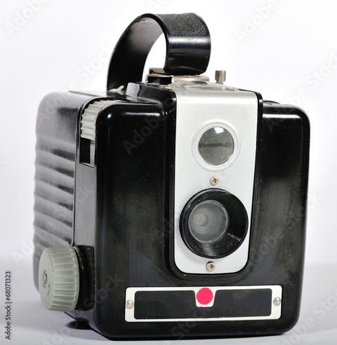 Photo A vintage film camera.