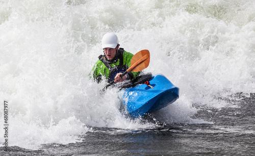 kayaker Canvas-taulu