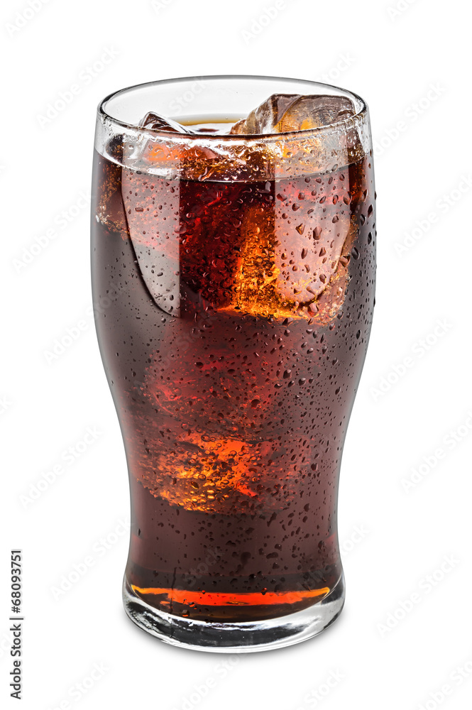 glass of cola Poster