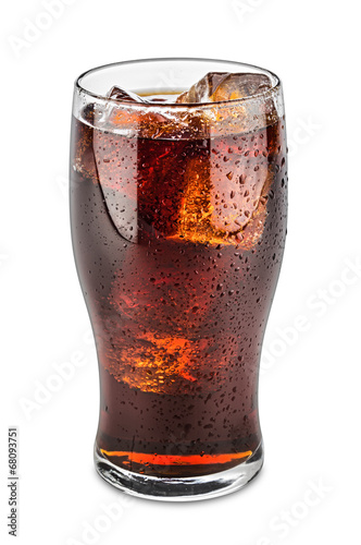 glass of cola Wallpaper Mural