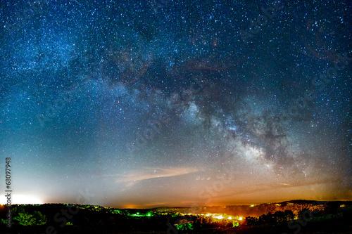 Milky Way Galaxy Slika na platnu