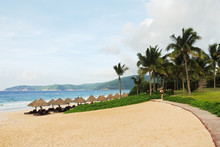 Sand Beach On Hainan Island, C...