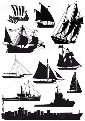 Fotografía  Schiffe und Segelschiffe