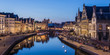 canvas print picture - Ghent, Belgium