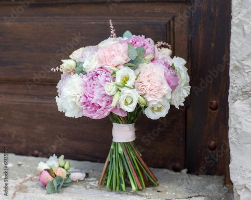 Fotografie, Obraz  bridal bouquet