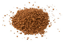 Heap Of Instant Coffee Granules