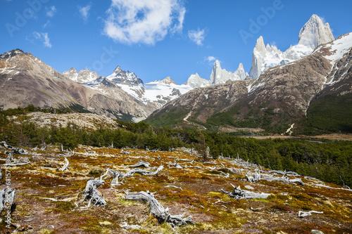 Foto op Aluminium Oceanië Fitz Roy mountain range, Andes in Patagonia, Argentina