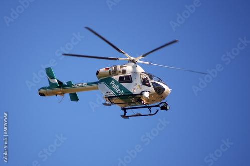 Staande foto Helicopter Polizeihubschrauber