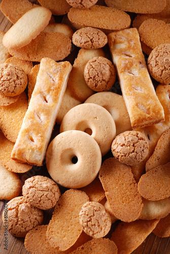Slika na platnu mucchio di biscotti assortiti