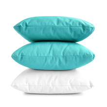 Stack Of Three Pillows Or Cush...