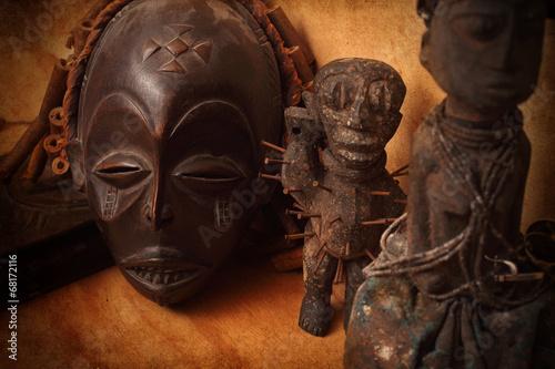 Plakát African mask