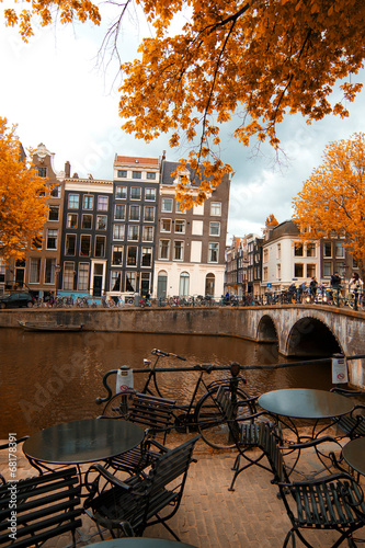 Amsterdam. Canvas Print