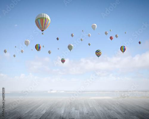 Flying aerostats - 68190319