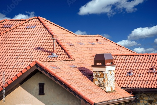Fotografie, Obraz  House Slates Roof