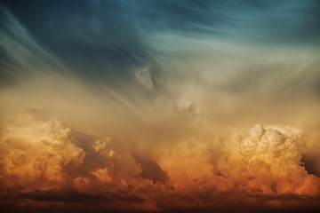 Fototapeta Stormy Cloud Nature Backdrop