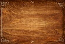 Oriental Wooden Texture Backgr...