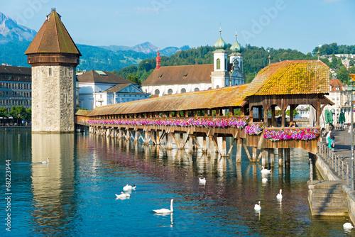 Fotografia Kapellbrücke in Luzern