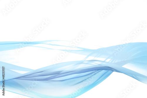 Fotobehang Fractal waves 風に揺れる布