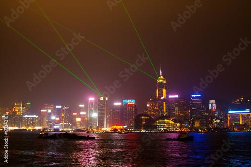 Photo  Hong Kong night