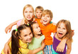 Group photo of a six kids
