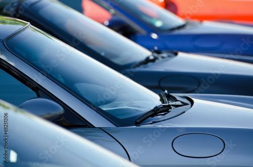 Fotografering  Sportwagen