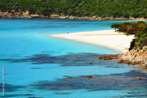 Spiaggia Sardegna Canvas Print