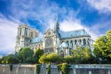 Fototapeta Fototapety Paryż - Notre Dame de Paris, France