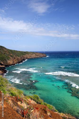 Cadres-photo bureau Nature Hanauma Bay, Oahu, Hawaii..
