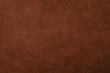 canvas print picture - Background of dark brown leather factory