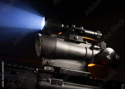 Fotografía  Scope and laser