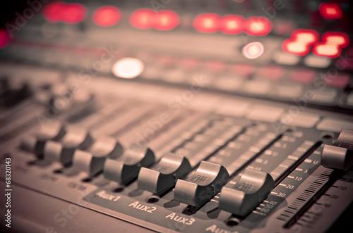 Valokuvatapetti music mixer