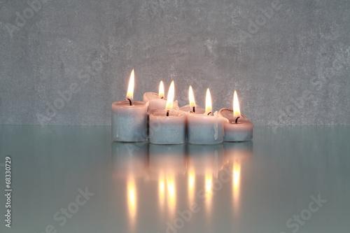 fototapeta na szkło Kerzenlicht