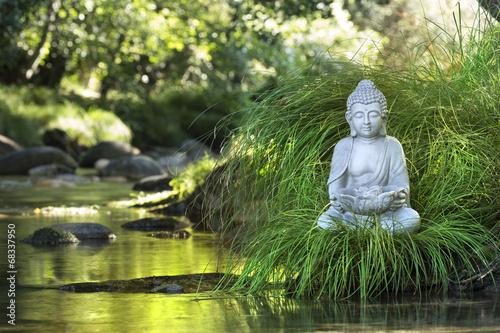 Bouddha et Bien-être Tapéta, Fotótapéta