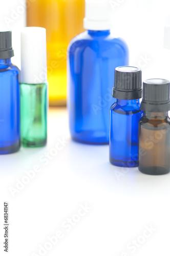 Fotografie, Obraz  コスメ容器 遮光瓶 スプレー容器