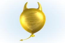 Yellow Devil Balloon