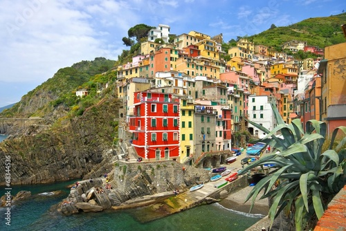 Fototapety, obrazy: Cinque Terre Riomaggiore 27
