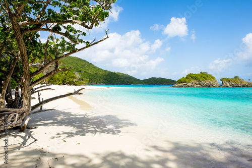Photo Stands Caribbean Beautiful Caribbean beach