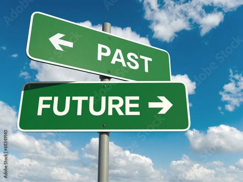 Fotomural past future