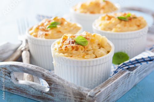 Fotografie, Obraz  baked macaroni with cheese