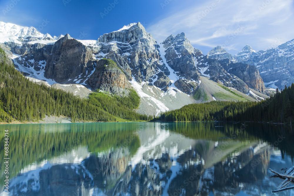 Fototapety, obrazy: Moraine Mountains
