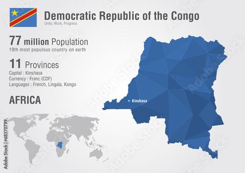 Democratic World Map.Congo Democratic Republic Of The Congo World Map Buy This Stock