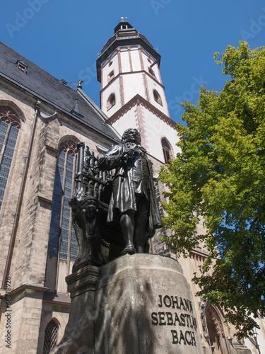 Fotografie, Obraz  Neues Bach Denkmal