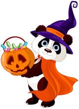 Halloween Panda
