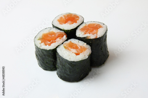 Printed kitchen splashbacks Sushi bar Tekka-Maki