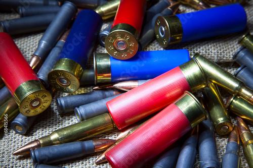 Fotobehang Jacht hunting ammunition