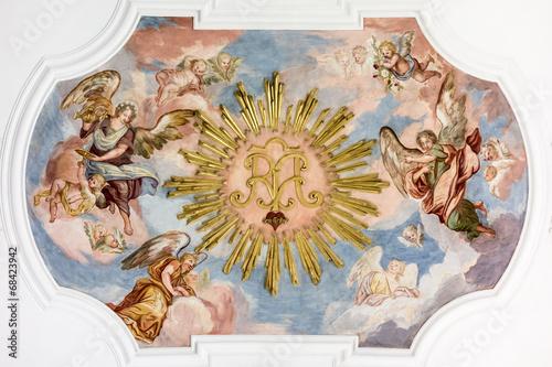 fresk-z-aniolami